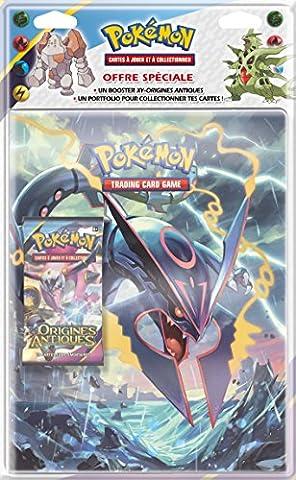 Pokémon - Pob09xy07 - Jeu De Cartes - Pack De Cahier Range-cartes + Booster - XY07 - Origines Antiques