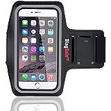 "Bingsale Brassard Armband Sport pour IPhone 6 6S 4,7""(IPhone 6 4.7"", noir)"