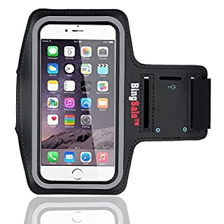 Bingsale iphone 6S / 6 (4,7 Zoll) Original Neoprene Deluxe Dual Fit Easy Fit Freizeit und Sport Armband Armtasche in Schwarz (iphone 6S / 6, Schwarz) (B00MWKIMPQ) | Amazon price tracker / tracking, Amazon price history charts, Amazon price watches, Amazon price drop alerts