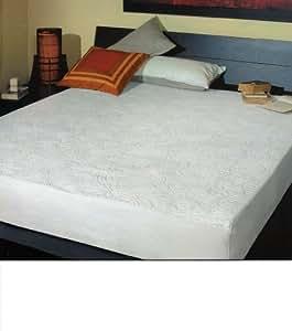 drap housse en ponge jacquard avec coins lastiques trois quarts une place et demi 100. Black Bedroom Furniture Sets. Home Design Ideas