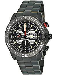 Nautec No Limit Herren-Armbanduhr XL Masterpiece Collection Chronograph Automatik Edelstahl beschichtet H8