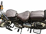 #5: Coffee Brown Company Original Seat Cover and Tank Cover for Classic 350 and 500 (Coffee Brown)