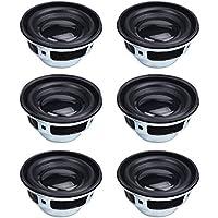 "HSEAMALL 1.5 ""4 Ohm 3W Altavoz de audio de rango completo, altavoz estéreo para woofer para Arduino 6-Pack"