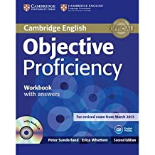 Objective Proficiency Workbook with Answers with Audio CD (Objective) (Mixed media product) - Common