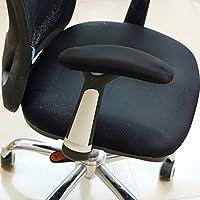 CSTOM 2- Morbido neoprene poggiabraccio per braccio bracciolo cuscini aumento per sedia da ufficio