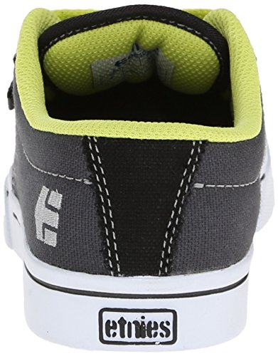 Etnies JAMESON 2 ECO Unisex-Kinder Skateboardschuhe Black/Grey/White