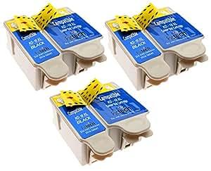 Kodak 10B / 10C - 6 Compatible Printer Ink Cartridges 3 Sets for Kodak Easyshare ESP 3, ESP 5, ESP 7, ESP 9, ESP 3250, ESP 3200, ESP 5000, ESP 5100, ESP 5200, ESP 5210, ESP 5250, ESP 5300, ESP 5500, ESP 7200, ESP 7250, ESP 9200, ESP 9250, ESP Office ESP 6100, ESP 6150, Hero 6.1, 7.1, 9.1 Printers **by Printer Ink Cartridges**