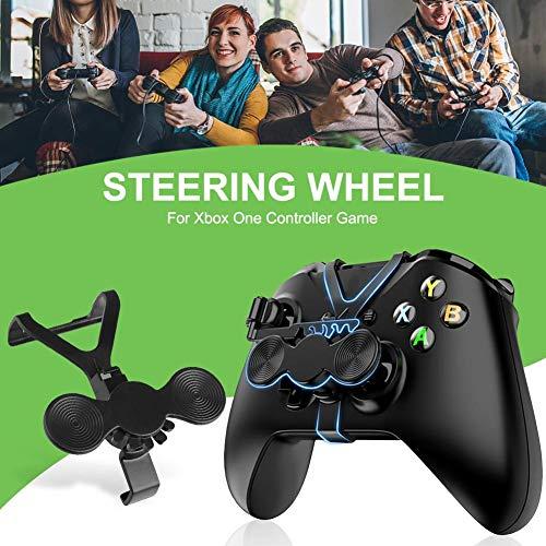 S WIDEN ELECTRIC S Wide elektrisches Lenkrad für Xbox One Controller, Mini-Lenkrad, Lenkrad, Lenkrad, Lenkrad, Zubehör für Rennspiele, Fingerabdrücke, Schieberad
