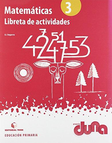 Matemáticas 3º EPO - Proyecto Duna (libreta) - 9788430717644