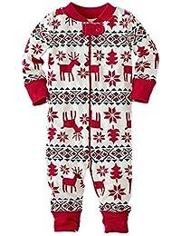 hibote Familia De Navidad Que Acondiciona La Madre Del Padre Juega La Ropa De Pijamas Romper Recién Nacido