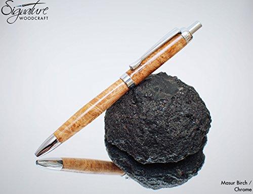executive-click-wooden-pen-in-masur-birch-made-in-nireland