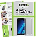 Samsung Galaxy A3 (2017) Schutzfolie - 2x dipos Displayschutzfolie Folie matt