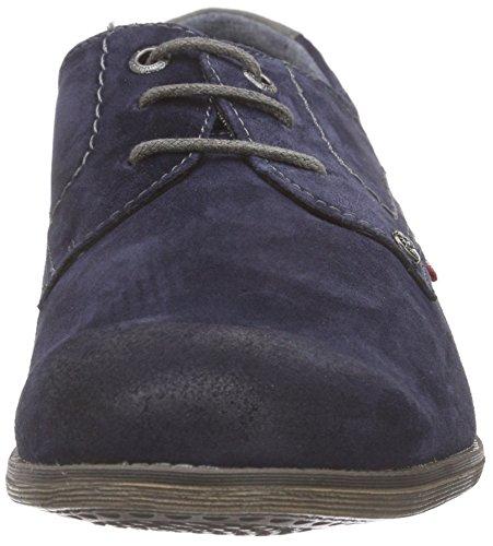 Tom Tailor 9680901, Chaussures Lacées Homme Bleu (Marine)