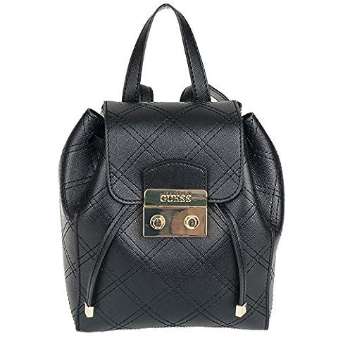 Guess Aria Small Backpack ARIAP7344 Damen Rucksack 17x20x10cm black
