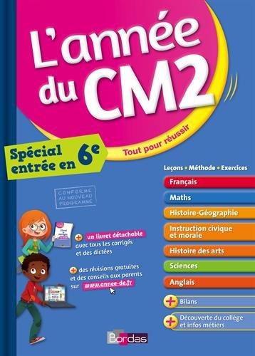 L'anne du CM2 - Toutes les matires