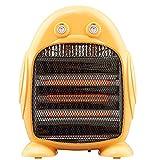 HSJZ Home Riscaldatore Piccolo Sole Domestico Elettrico Riscaldamento a Risparmio energetico Camera da Letto Ufficio Studente Riscaldamento Ventilatore Bagno Riscaldamento Stufa