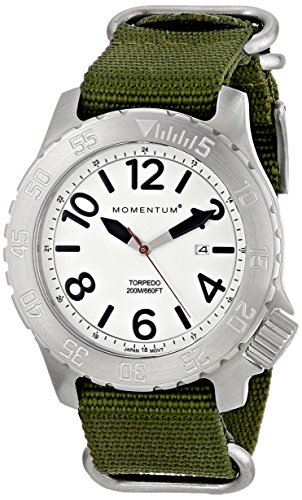 Momentum Mens Analogue Classic Quartz Watch with Nylon Strap 1M-DV74L7G