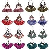 SMARTLADY Mujeres Moda Collar de /Étnica Vintage Colgante Gargantilla de Coloreado