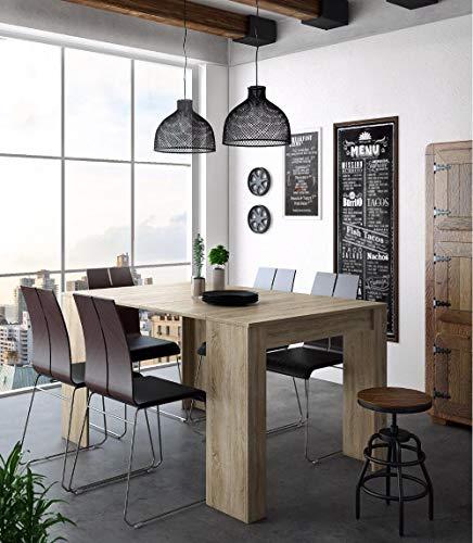 Home Innovation - Table Console Extensible, rectangulaire avec rallonges, jusqu'à 140 cm, pour Salle à Manger et séjour, Couleur...