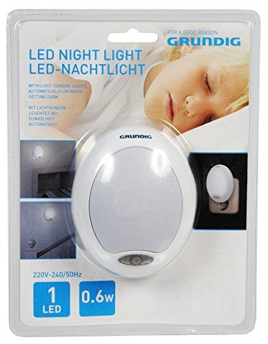 Price comparison product image Grundig Nachtlicht Oval LED (einfarbig) white