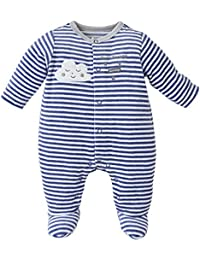 414090f5a77e1 Sucre D Orge - sleepwear - Masculin - 1 - pyjama bebe garcon raye bleu