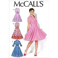 McCall's Patrones de Costura para MC7081 E5 tamaños 14/16/18/20/22 Patrones de Costura para Vestidos