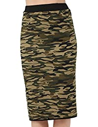 Miss Coquines - Jupe camouflage - Femme - Jupes