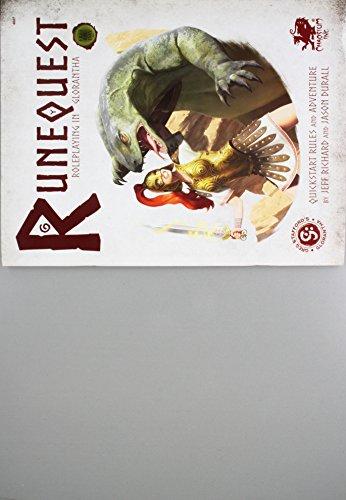 Runequest: Roleplaying in Glorantha Quick Start por Jason Durall