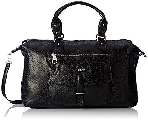 LPB Woman W16b0103, Sac porté main - Noir  (Noir ), Taille Unique Noir  (Noir )