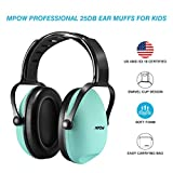 #1: Mpow Kids Hearing Protection Ear Muffs, NRR 22dB/SNR 26db Professional Sound Proof Ear Protection Ear Defenders, Kids Safety Ear Muffs for Sleeping Reading Shooting Etc?Blue?