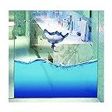 HQdeal 3D kein Kleber Statische Sichtschutz Fenster Filme Deko Glas Film/Aufkleber selbstklebend Wärme Control für Home Kids Raum Badezimmer Decor