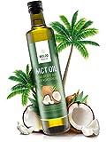 WoldoHealth MCT Olio di Cocco acidi grassi essenziali per una perdita di peso naturale bottiglia da 500ml