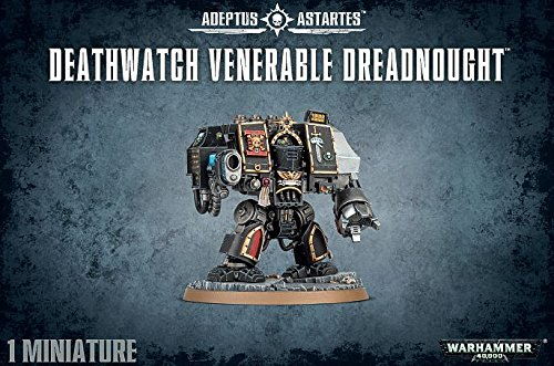 Warhammer 40,000 40K Deathwatch Venerable Dreadnought by 40K
