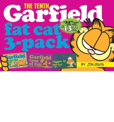 By Jim Davis ( Author ) [ Garfield Fat Cat 3-Pack #10: Contains: Garfield Life in the Fat Lane (#28); Garfield Tons of Fun (#29); Garfi Eld Bigger and Better (#30)) Garfield Fat Cat Three Pack By Feb-1999 Paperback