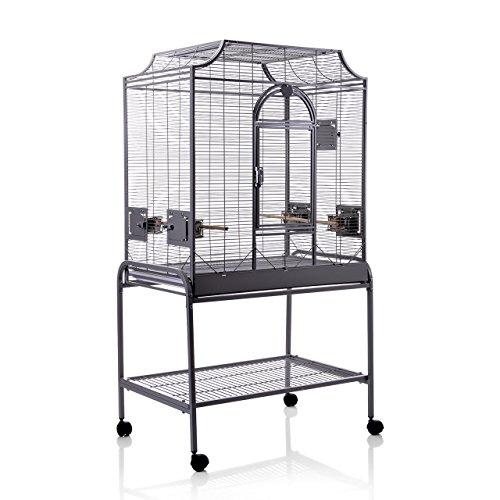 Montana Cages ®   Die Geschenk - Idee: Madeira II - in Antik für Sittiche, der ideale Vogelkäfig, Voliere, Sittichkäfig, Käfig