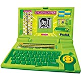 Oongly Ben 10 Educational Computer ABC And 123 Learning Kids Laptop With LED Display And Music (Green)
