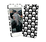 Skull Black White Pattern Rock and Roll 000134 iPhone 6 7 8 X - Best Reviews Guide
