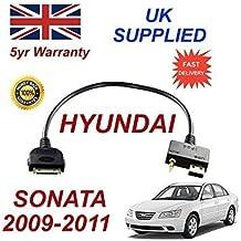 Hyundai senata 2009-2011iPod iPhone 3GS 44S 3.5mm de audio de conectividad & USB Cable
