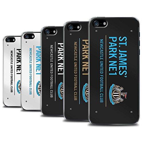 Offiziell Newcastle United FC Hülle / Case für Apple iPhone 5/5S / Pack 6pcs Muster / St James Park Zeichen Kollektion Pack 6pcs
