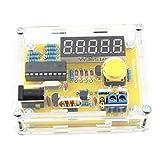 Mengonee 1Hz-50MHz di cristallo oscillatore del tester del contatore di frequenza del tester di misura Kit Meter cassa DIY durevole Led