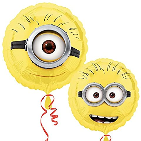 Despicable Me 2 - Minion Party Balloon Foil 2 Sided Design 43 cm