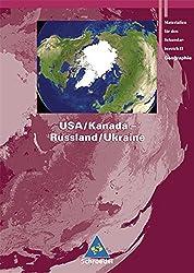 Rote Reihe: Seydlitz Geographie - Themenbände: USA / Kanada - Russland / Ukraine
