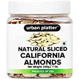 Urban Platter California Almonds (Sliced - 200g)