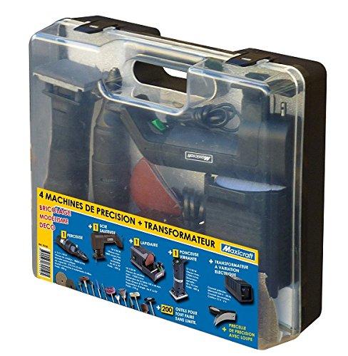 Maxicraft 70150 - Taladro con sierra de cinta/lijadora / 12v lapidaria