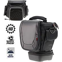 Navitech télescopique DSLR SLR Case Housse pour lentilles jusqu'à 150 mm pour la Pentax K-5 IIs, Pentax K-5 II, Pentax K-30, Pentax K-5, Pentax K-7, Pentax K20D, Pentax K200D, Pentax K10D, Pentax K100D Super, Pentax K100D