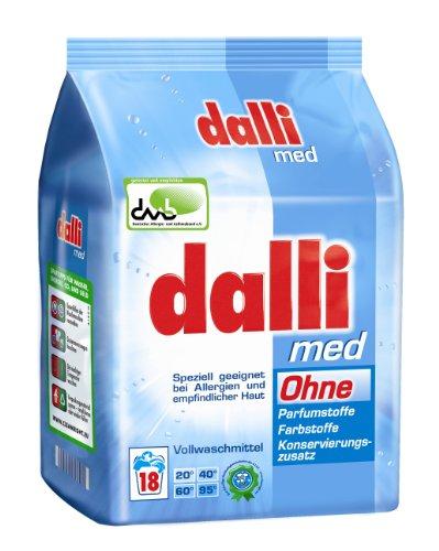 Dalli Med Waschmittelpulver, 1er Pack (1 x 1,215 kg)