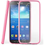 Funda protectora OneFlow para funda Samsung Galaxy S4 Active Carcasa silicona TPU 1,5mm | Accesorios cubierta protección móvil | Funda móvil paragolpes bolso traslúcida transparente en Icy-Pink