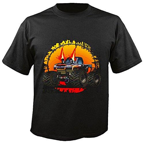 Tank-top Monster-truck (Kinder T-Shirt