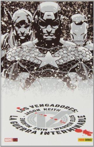 Vengadores: guerra interminable editado por Panini / marvel