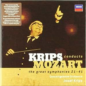 Krips dirige Mozart : les Symphonies n° 21 à 41